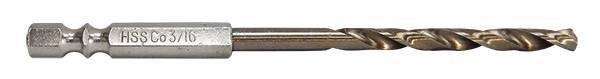 六角軸含鈷鑽頭 六角含鈷鑽頭 不銹鋼鑽頭鑽尾 不鏽鋼鑽頭 含鈷鐵工鑽頭 六角軸白鐵鑽頭 日本製造 3.2mm