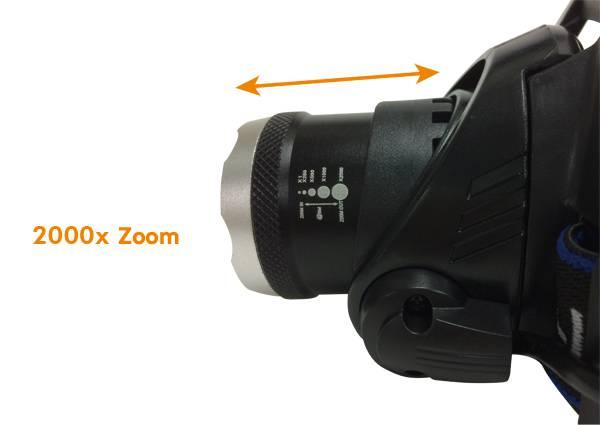 5W LED Headlight Headlamp Rechargeable Flashlight Torch LED