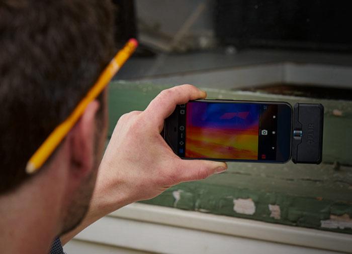 FLIR ONE Pro LT機專用紅外線熱像儀應用實例