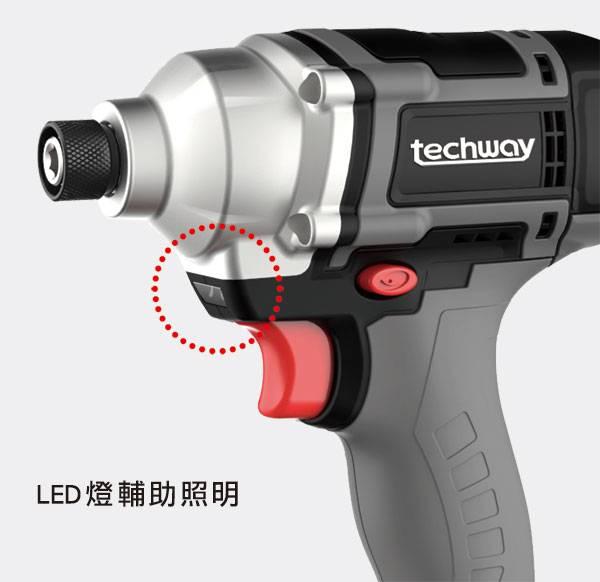 台製18V鋰電池鎚擊式電動起子機攻牙機