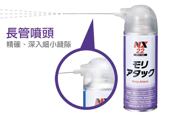 NX22高濃度二硫化鉬潤滑劑 高效能耐高溫耐荷重潤滑油 日本原裝進口