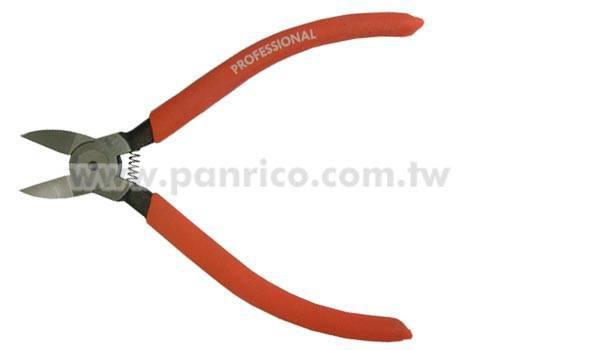 電子塑膠斜口鉗 電工用剝線鉗 斜嘴鉗 斜口電工剪 水口剪 斜嘴鉗子