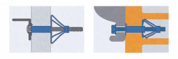 台灣製造牆板拉脹釘 牆板拉釘 拉脹螺絲 中空壁虎膨脹螺絲