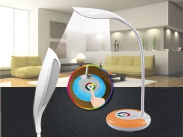 LED炫彩觸控護眼檯燈