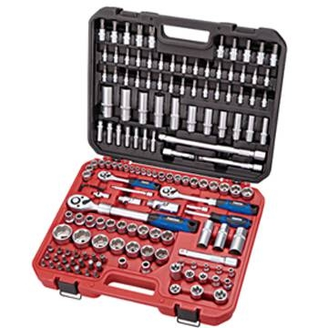 155件式起子套筒組 155件工具套裝組 155件套組合工具組 155件套筒汽車維修套裝組 155件多功能螺絲刀組合套裝 汽修工具
