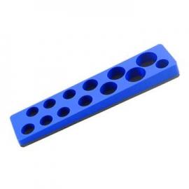 magnetic socket organizer tray holder