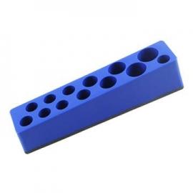 13 Hole Magnetic Deep Socket Holder Tray