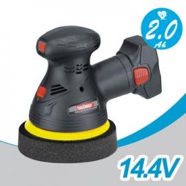 Techway 14.4V 2.0Ah双锂电可调速汽车充动打蜡机 无线打蜡机 无线电动打蜡机 汽车打腊机 台湾制造