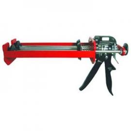 双液型铁制植筋胶枪 双液型植筋枪 双液型植筋胶注射器 双液型植筋专用填缝注射枪