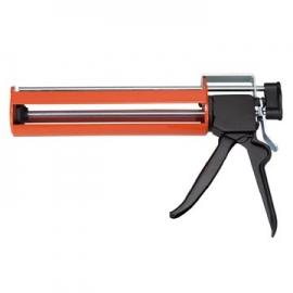 345ml专业型双液型铁制植筋胶枪 专业双液型植筋枪 专业双液型植筋胶注射器 专业双液型植筋专用填缝注射枪 台湾制造