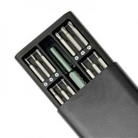 25件精修螺丝工具组 铝合金手柄可旋式精密螺丝起子套装组 螺丝起子组