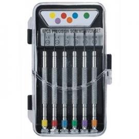 6件式彩色精密起子组 精密螺丝起子套装 多用途螺丝刀组