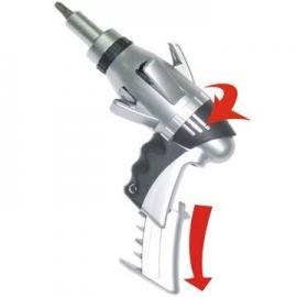 10合1酷炫枪型棘轮起子组 棘轮螺丝起子组  螺丝刀组