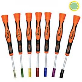 可旋式彩色精密六角套筒起子 電子專用精密起子 彩色六角套筒螺絲批 彩色六角套筒螺絲刀 螺絲璇具 彩色六角套筒起子