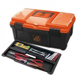 專業工具箱透明蓋分類2層多功能工具箱