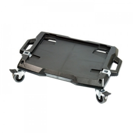 可堆栈系统工具箱专用台车 乌龟车 四轮推车 移动托盘拉车 台湾制造