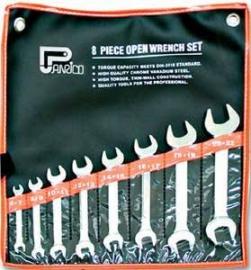 8pcs Open Wrench Set