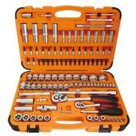 110件式2分及4分起子套筒 汽修工具套裝 套筒扳手組