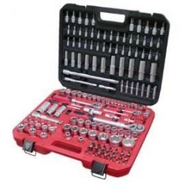 155pcs Socket Set; Bits Socket; Ratchet Handle Set