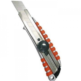 专业用大型18mm铝合金美工刀 台湾制造