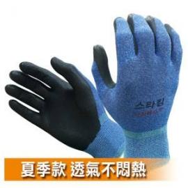 韓國NiTex夏季薄型止滑耐磨手套 防滑手套 透氣防滑工作手套 耐磨工作防護手套 休閒手套 適登山 溯溪 露營 騎車 園藝 倉儲 搬運 藍色