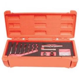 11pcs Interchangeable Ratchet Tap Wrench Set
