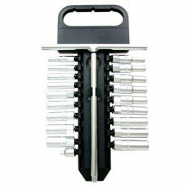 20pcs T Handle Long Sockets & Wrench Set